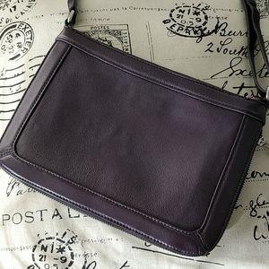 ✨DANIER✨ Expandable Leather Crossbody Purse